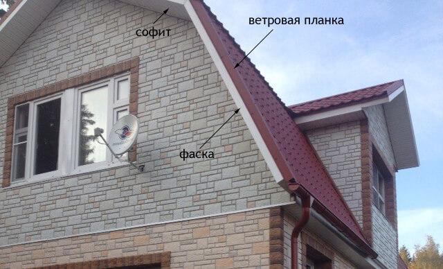 монтаж ветровой планки и j-фаски